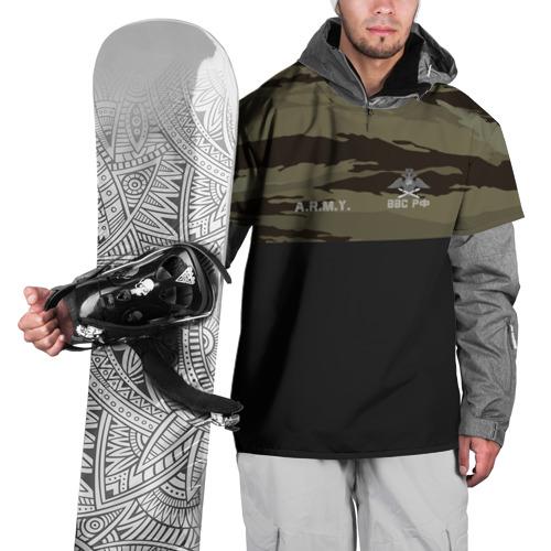 Накидка на куртку 3D  Фото 01, Камуфляж ВВС РФ