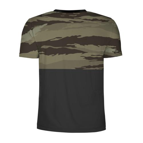 Мужская футболка 3D спортивная  Фото 02, Камуфляж ВВС РФ