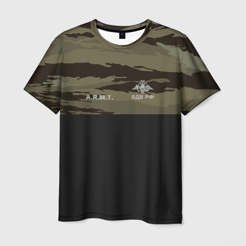 Мужская футболка 3D  Фото 03, Камуфляж ВДВ РФ