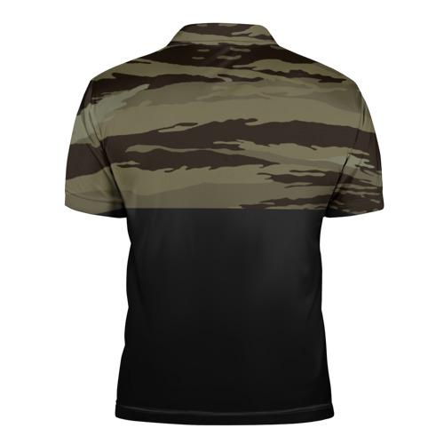 Мужская рубашка поло 3D  Фото 02, Камуфляж ВДВ РФ