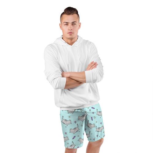 Мужские шорты 3D спортивные  Фото 05, Кавайные котики