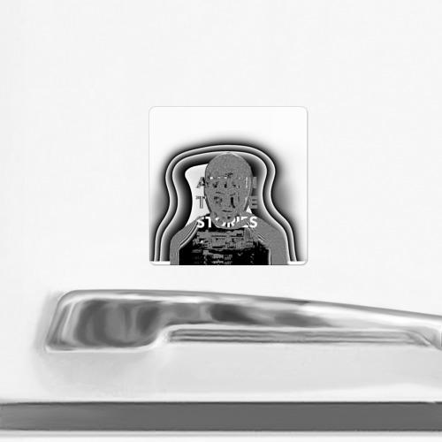 Магнит виниловый Квадрат  Фото 02, Avicii
