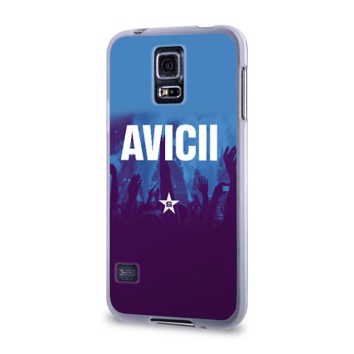 Чехол для Samsung Galaxy S5 силиконовый  Фото 03, Avicii