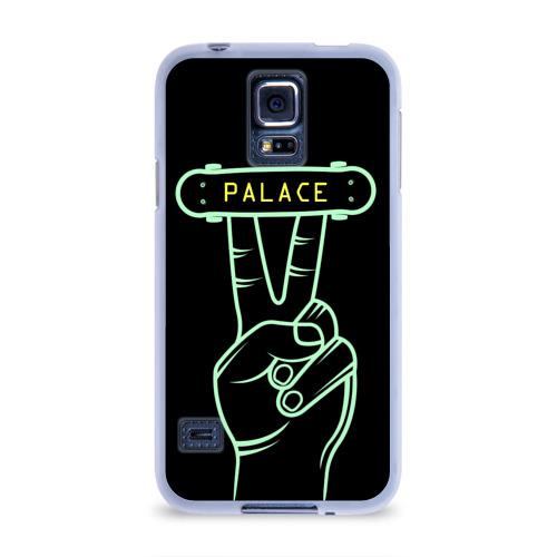 Чехол для Samsung Galaxy S5 силиконовый  Фото 01, Модный Palace