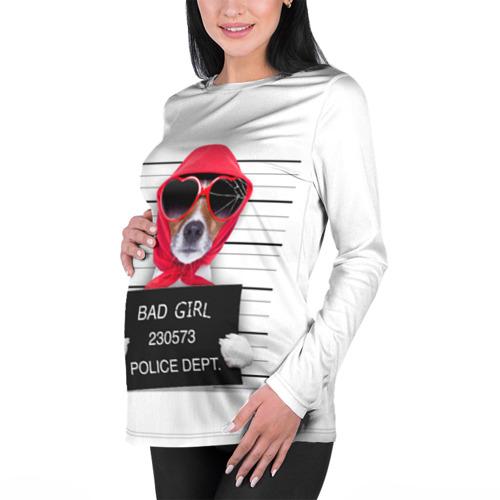 Женский лонгслив 3D для беременных  Фото 01, BAD GIRL