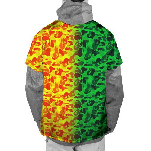 Накидка на куртку 3D  Фото 02, Monkey GreenYelow