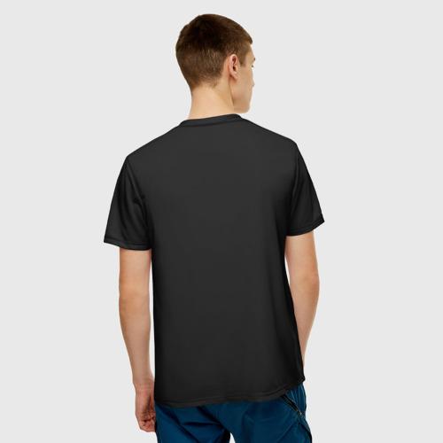 Мужская футболка 3D Новогодний Мяч