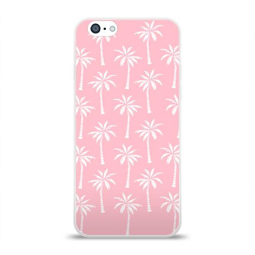 Чехол для Apple iPhone 6 силиконовый глянцевый  Фото 01, Тропики