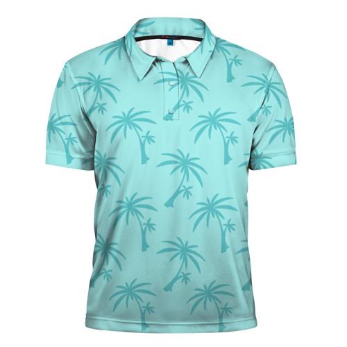 Мужская рубашка поло 3D GTA Vice City