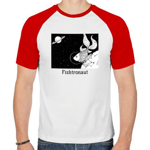 Мужская футболка реглан  Фото 01, Рыбстронавт