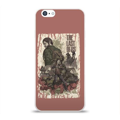 Чехол для Apple iPhone 6 силиконовый глянцевый  Фото 01, The Last of Us_3