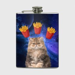 Котик с картошкой фри