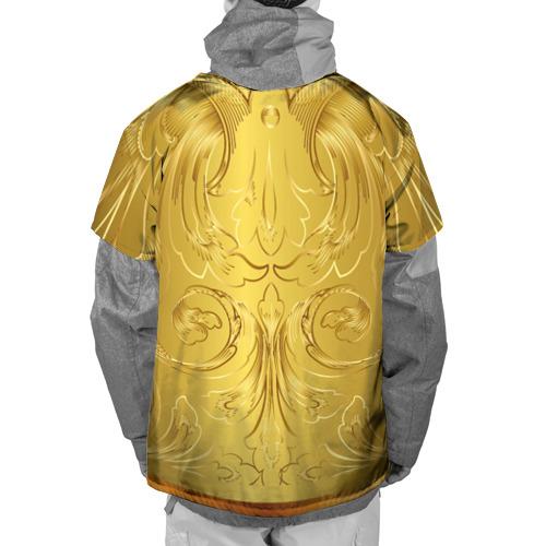Накидка на куртку 3D  Фото 02, GOLD #6