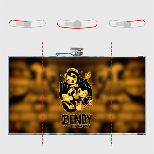 Фляга  Фото 05, Bendy and the ink machine (32)