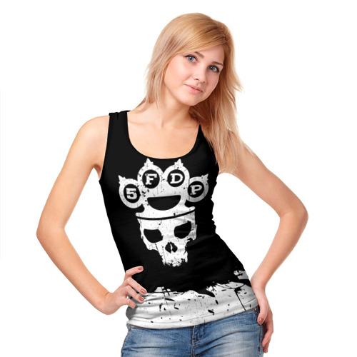 Женская майка 3D  Фото 05, Five Finger Death Punch