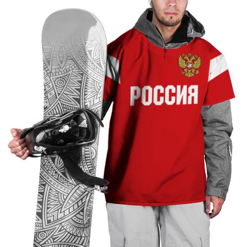Накидка на куртку 3D  Фото 01, Сборная России