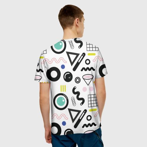 Мужская футболка 3D  Фото 02, Веселые узоры