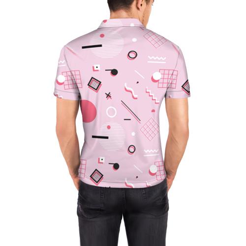 Мужская рубашка поло 3D  Фото 04, Арт-деко