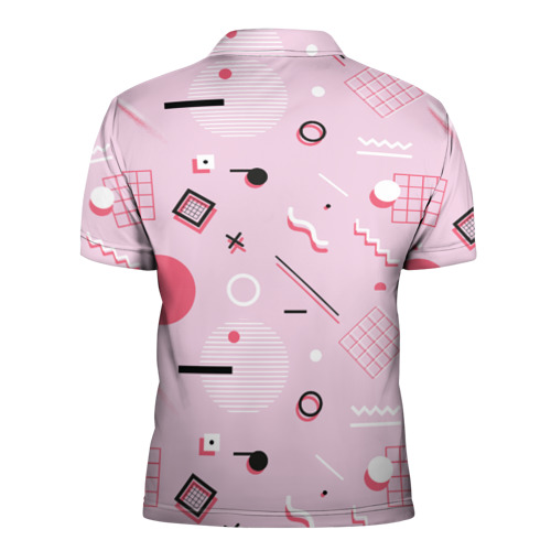 Мужская рубашка поло 3D  Фото 02, Арт-деко