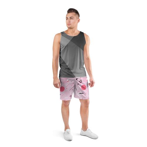 Мужские шорты 3D спортивные  Фото 04, Арт-деко