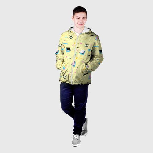 Мужская куртка 3D  Фото 03, Веселая абстракция
