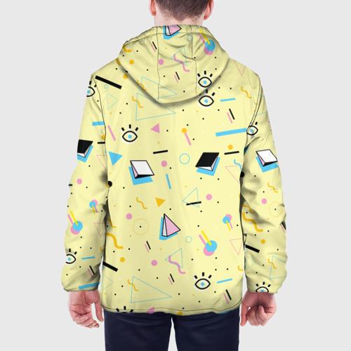 Мужская куртка 3D  Фото 05, Веселая абстракция
