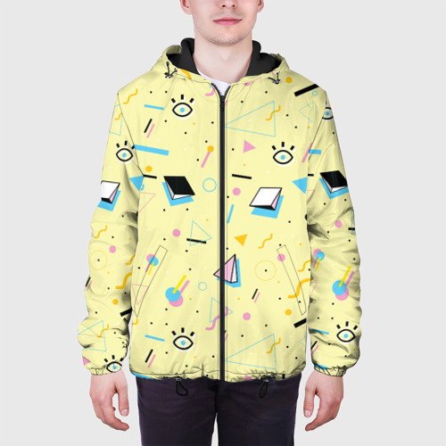 Мужская куртка 3D  Фото 04, Веселая абстракция