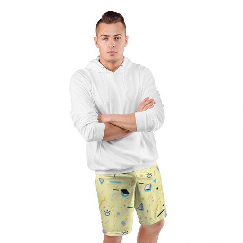 Мужские шорты 3D спортивные  Фото 05, Веселая абстракция