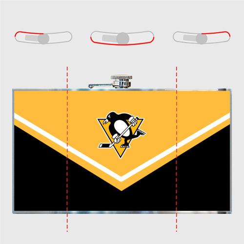Фляга Pittsburgh Penguins (Форма 1) Фото 01