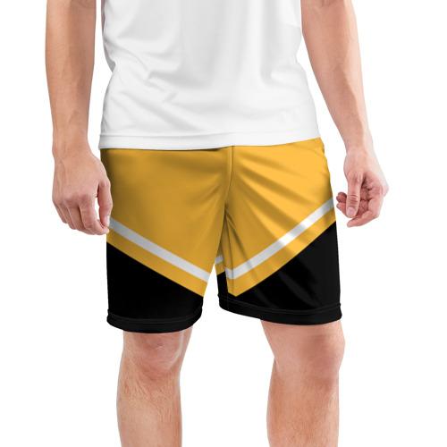 Мужские шорты спортивные Pittsburgh Penguins (Форма 2) Фото 01