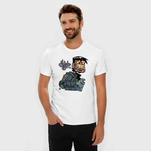 Мужская футболка премиум  Фото 03, Граффити