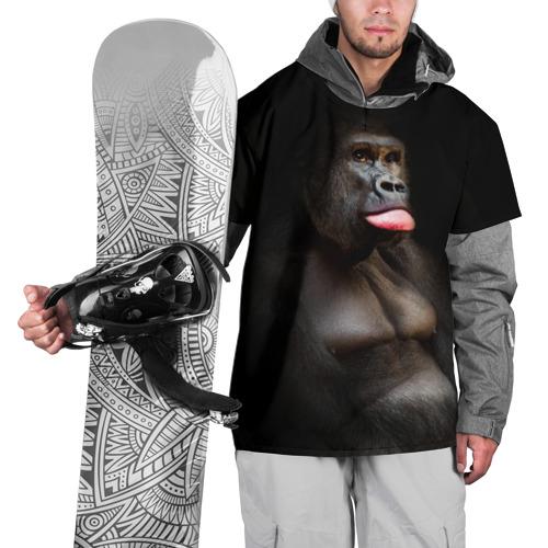 Накидка на куртку 3D  Фото 01, Горилла