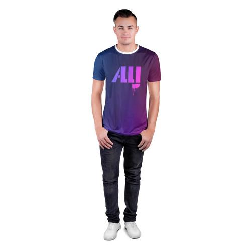 Мужская футболка 3D спортивная  Фото 04, ALLJ