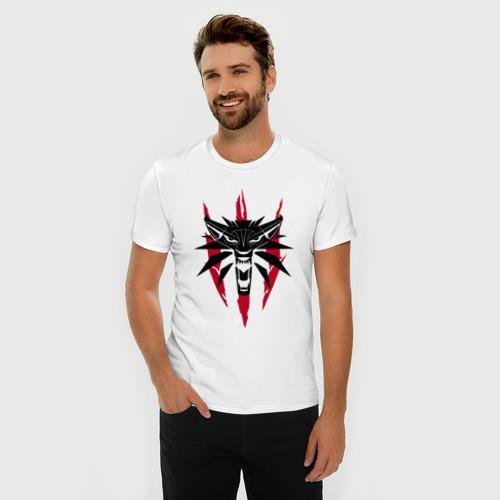Мужская футболка премиум  Фото 03, Ведьмак
