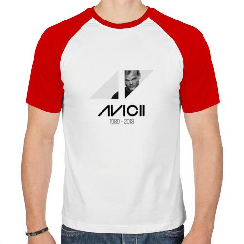 Мужская футболка реглан  Фото 01, Dj Avicii
