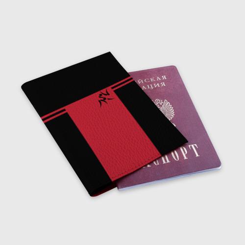 Обложка для паспорта матовая кожа  Фото 03, Дзюдо