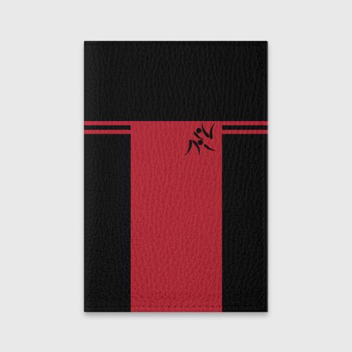Обложка для паспорта матовая кожа  Фото 01, Дзюдо