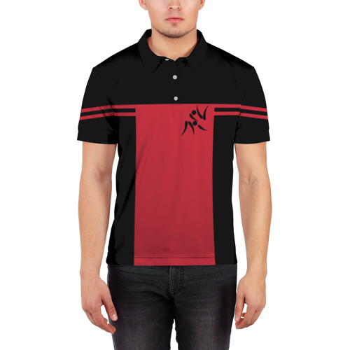 Мужская рубашка поло 3D  Фото 03, Дзюдо