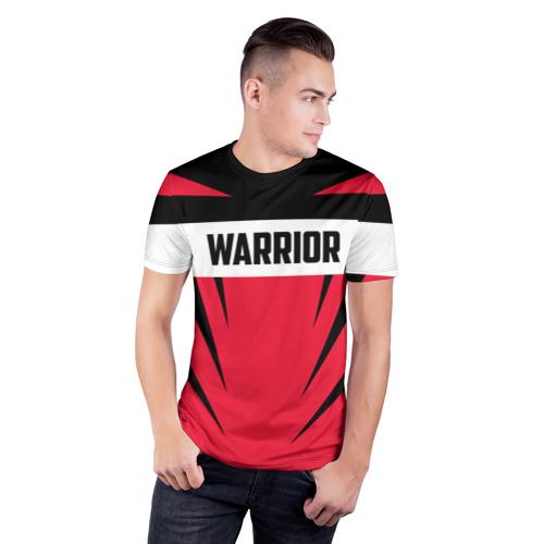 Мужская футболка 3D спортивная  Фото 03, Warrior