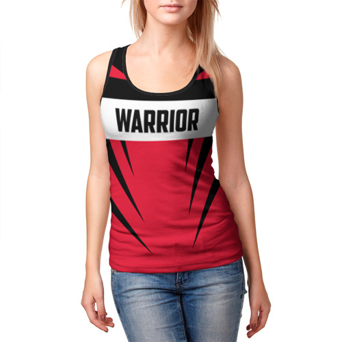 Женская майка 3D  Фото 03, Warrior
