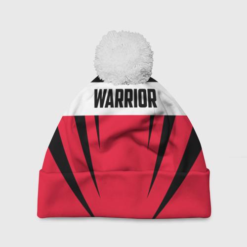 Шапка 3D c помпоном  Фото 01, Warrior