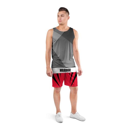 Мужские шорты 3D спортивные  Фото 04, Warrior