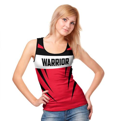 Женская майка 3D  Фото 05, Warrior