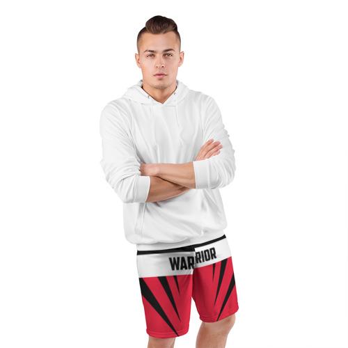 Мужские шорты 3D спортивные  Фото 05, Warrior