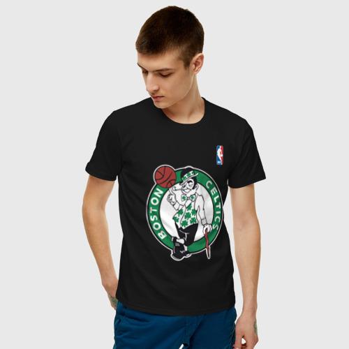 Мужская футболка хлопок Boston celtics Фото 01