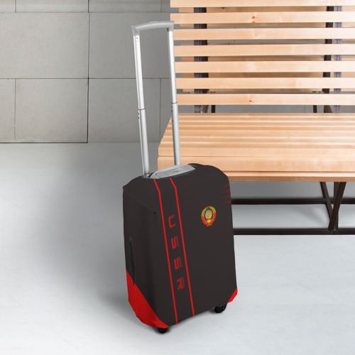 Чехол для чемодана 3D USSR Фото 01