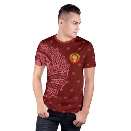 Мужская футболка 3D спортивная  Фото 03, СССР