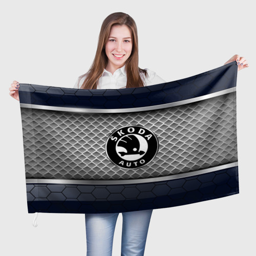 Флаг 3D  Фото 01, SKODA SPORT