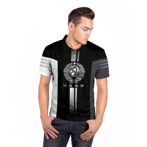 Мужская рубашка поло 3D СССР