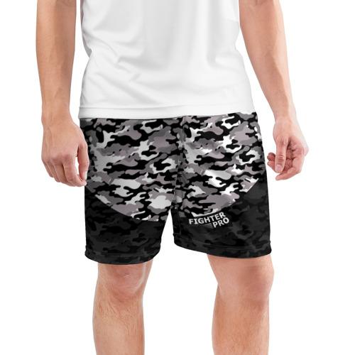 Мужские шорты 3D спортивные  Фото 03, Fighter PRO